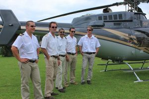 Our helicopter pilots