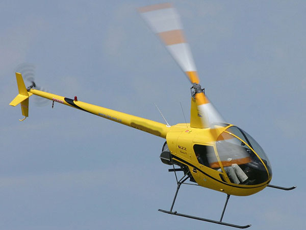 Robinson r22 used for helicopter training