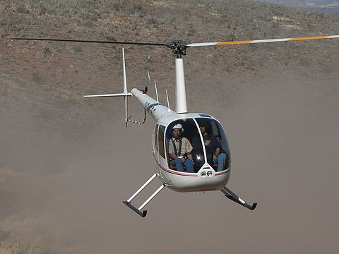 helicopter training commercial pilot Johannesburg PPL