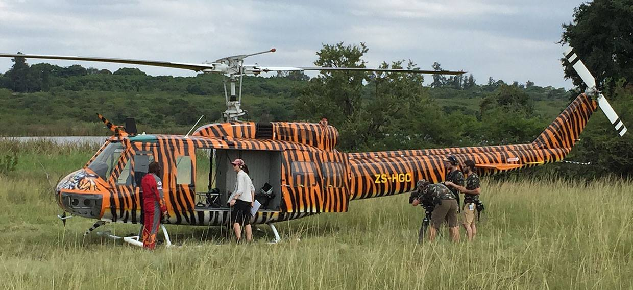 Tiger Huey on our Film production