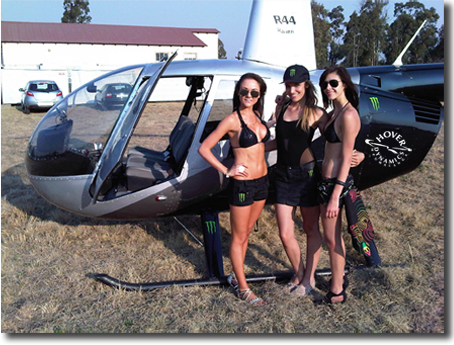 Helicopter Corporate Events and functions