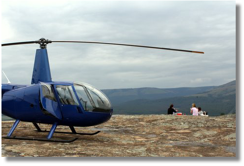 helicopter rides to see the Scenic Panorama flights Mpumalanga