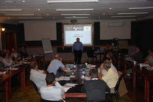 Mr Tim Tucker Addressing the 2012 Hover Robinson Safety Course