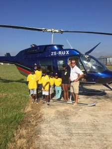 Flying Children Affected by Cancer in a Special Aviation Day at Nelspruit Airport