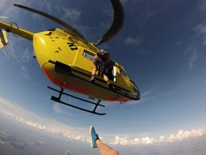 More on skydiving for BK 117